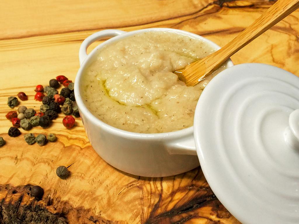 Peverada - piatto tipico del lago di garda
